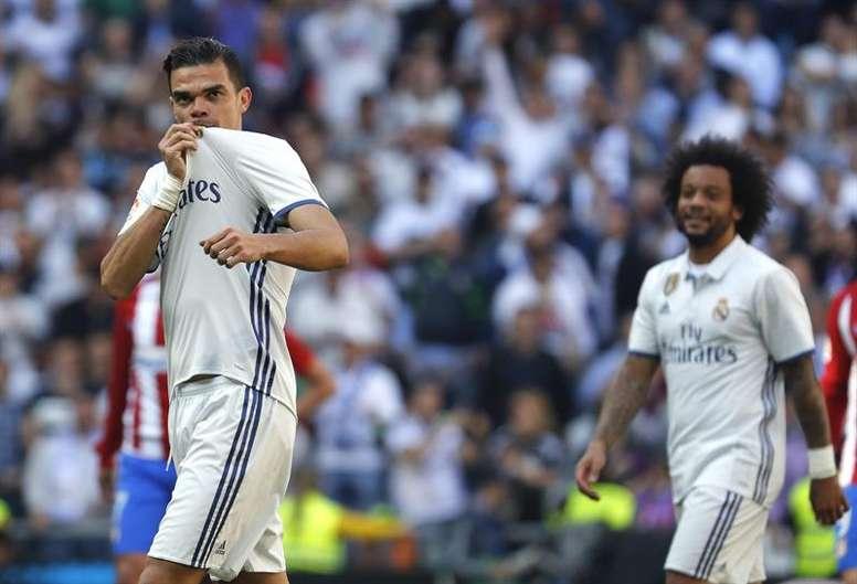 Pepe costó 30 millones al Madrid. EFE