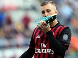 O Milan bateu o Bologna e ficou com o 6º posto da Serie A. EFE/EPA
