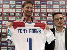 Tony Adams was named interim manager at Granada. EFE