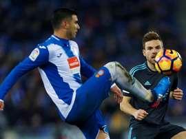 Reyes no seguirá en el Espanyol la próxima temporada. EFE