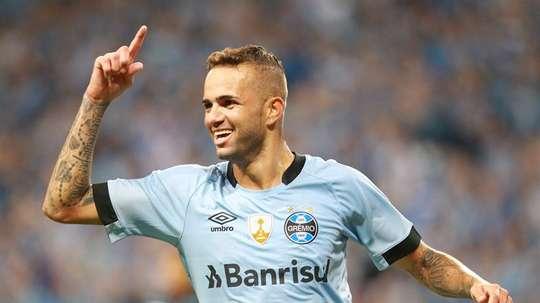 Luan deve ser desfalque do Grêmio na semifinal. EFE
