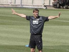 Adams: Granada's future is bright. EFE