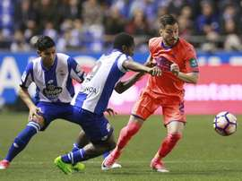 El lateral jugó el pasado curso en el Granada como cedido. EFE/Archivo