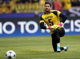 Roman Bürki lançou duras críticas contra a UEFA. EFE