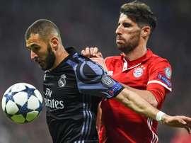 Jogador do Bayern dado como próximo dos 'citizens'. EFE