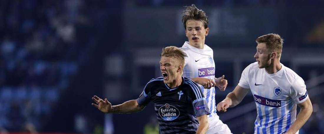 Tras caer en Vigo, el Genk dio buena cuenta del Kortrijk. EFE