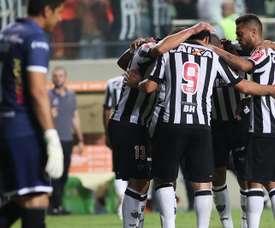 O Atlético Mineiro bateu o Atlético Goianiense por 3-2. EFE