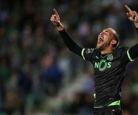 Bas Dost foi o melhor jogador do Sporting CP em 2017. EFE