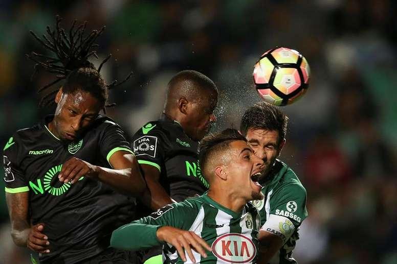 El Vitória Setúbal incorpora un nuevo refuerzo por las bandas procedente del Benfica. EFE