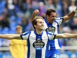 La Corogne a retrouvé le sourire contre Malaga. EFE