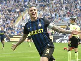 Spaletti wants that Candreva stays at Inter. EFE/EPA