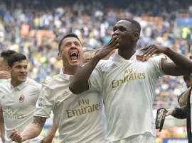 Zapata sure Milan deserved draw. EFE/EPA