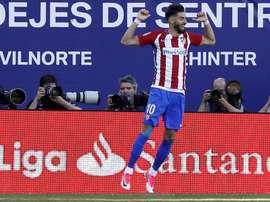 El delantero Carrasco es uno de los damnificados tras el partido ente el Villareal. EFE