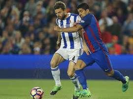 Illarramendi a joué son premier match avec l'Espagne. EFE