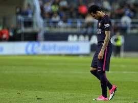 Neymar fait parti des joueurs qui pourraient manquer le match-aller des demies-finales. EFE