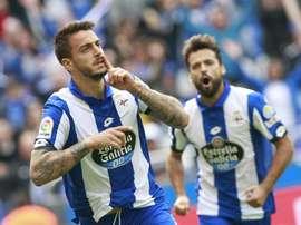 Joselu veut jouer avec le Malaga de Michel. EFE