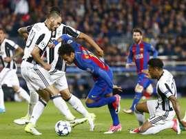 Neymar est associé à la Juventus. EFE