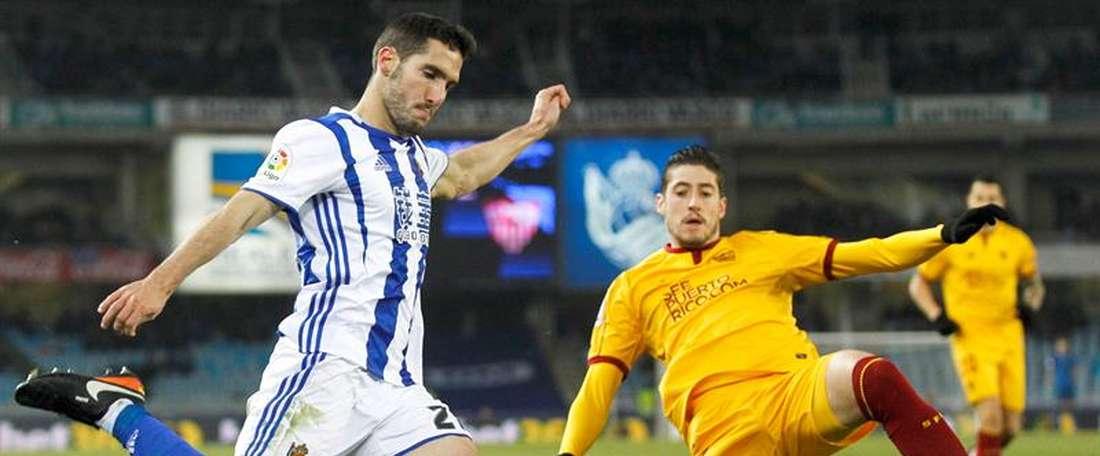 Joseba Zaldua reforzará la zona defensiva del Leganés. EFE/ARchivo