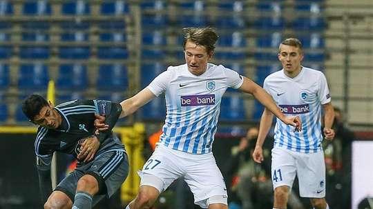 Le Napoli veut Sander Berge. EFE