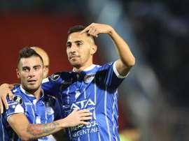 Godoy Cruz venció por 2-0. EFE