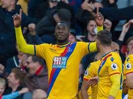 Benteke veut rester à Crystal Palace. EFE