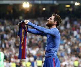 Messi contre le Real Madrid. EFE