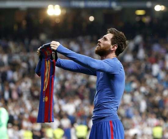 Un tercio de los goles del Barça al Madrid le pertenece. EFE