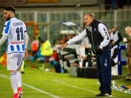 O Pescara recebe o Palermo na última partida da rodada 37 da Serie A. EFE