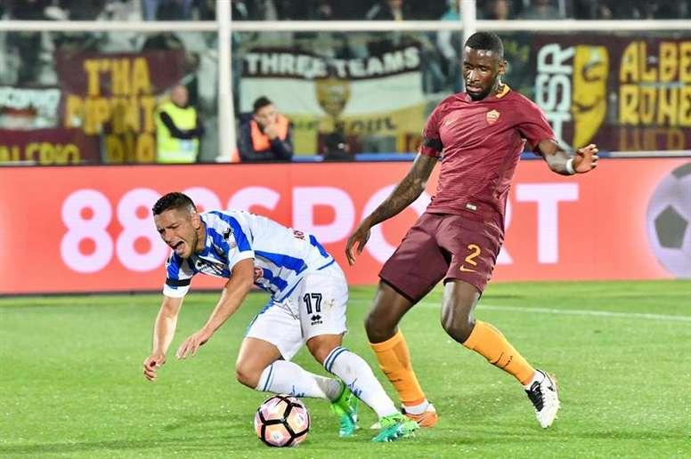 Caprari jugó a préstamos en el Pescara las últimas temporadas. EFE