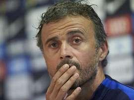 Técnico 'blaugrana' ciente de que o Real Madrid tem menos um jogo disputado na LaLiga. EFE