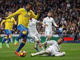 Boateng já não é jogador do Las Palmas. EFE/Arquivo