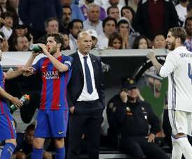 There are no Barca or Madrid players in the lineup for players with more game time. EFE