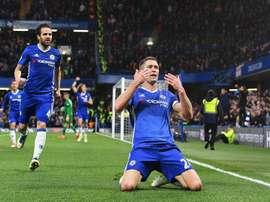 El Chelsea venció con solvencia al Southampton. EFE