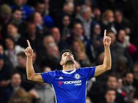 Diego Costa e Morata sabem o que é jogar contra o Liverpool. EFE