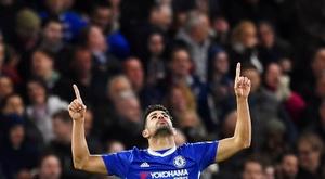Il semble que Diego Costa ne sera plus en Premier League à la fin de l'été. EFE