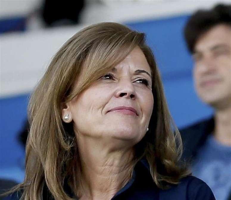 Victoria Pavón es una de las dos presidentas que hay en Primera División. EFE/archivo