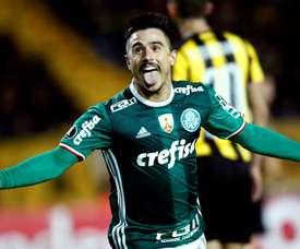 El 'verdao' está en la siguiente ronda de la Copa Brasil. EFE/Archivo