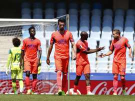 Granada confirma o rebaixamento a segunda depois de cair em Anoeta frente a Real Sociedad. EFE