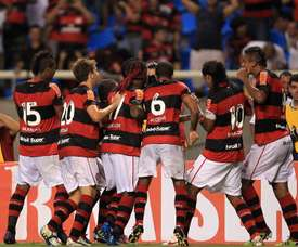 Flamengo se impuso por 2-5 en Chile. EFE