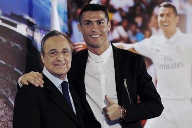 Real Madrid Cristiano Ronaldo Florentino Pérez. EFE/Archivo