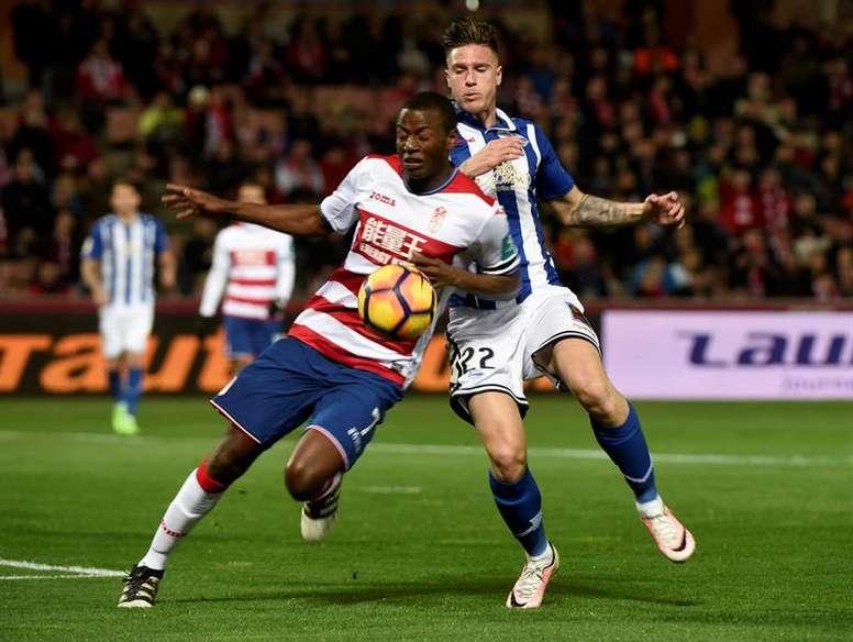 Ramos seguirá en Granada. EFE