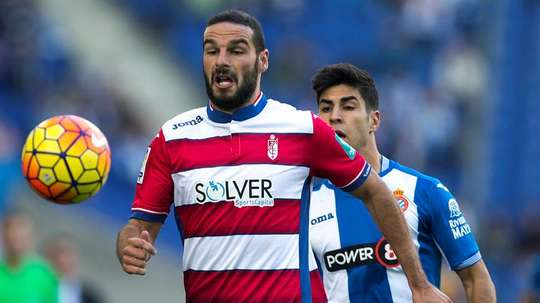 Lomban previously played for Granada. EFE/Archivo