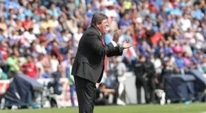 Cecilio Domínguez podría abandonar el América. EFE