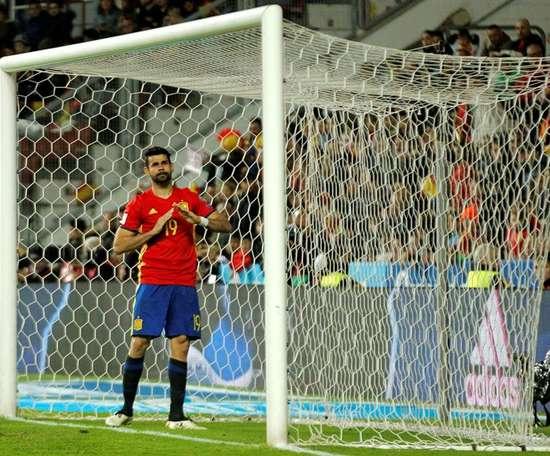 Diego Costa pudo haber jugado con la Selección Brasileña. EFE