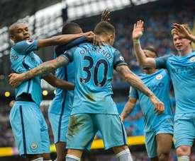 Lescott believes that City will beat Liverpool on Saturday. EFE/EPA