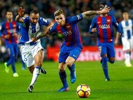 Les dirigeants de l'Inter et le Barça se sont rencontrés. EFE