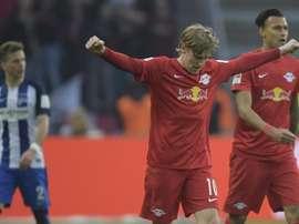 El RB Leipzig tiene 6 puntos de ventaja y quedan dos jornadas. EFE