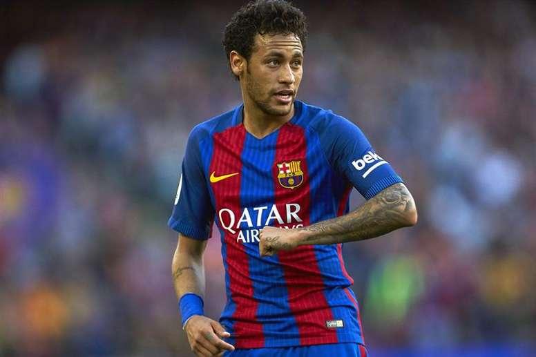 Neymar est un grand joueur pour Michel. EFE