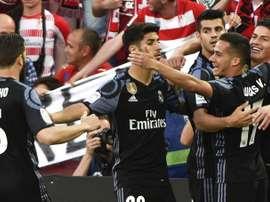 James Rodriguez and Morata were on the scoresheet against Granada. EFE