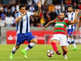 O FC Porto está de visita ao Funchal. EFE